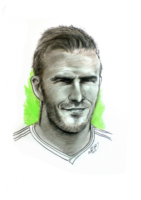David Beckham by cipta